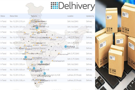 Online Delhivery Tracking Number Barcode