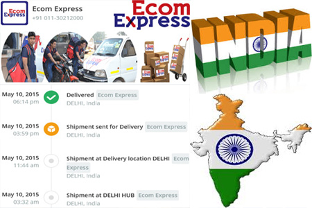 Online Ecom Express Tracking Number Barcode
